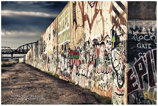 Graffiti wall in St Louis