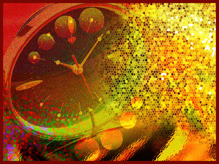 Abstract Digital Time