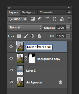Merge Up Layer