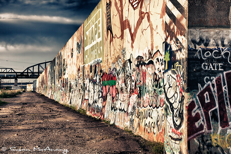 urban landscape photo of graffiti